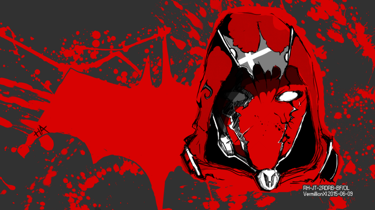 red hood wallpaper 049