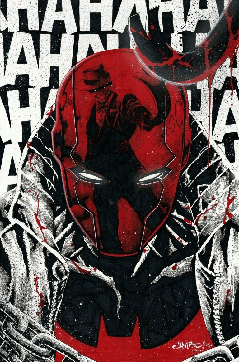 red hood wallpaper 050