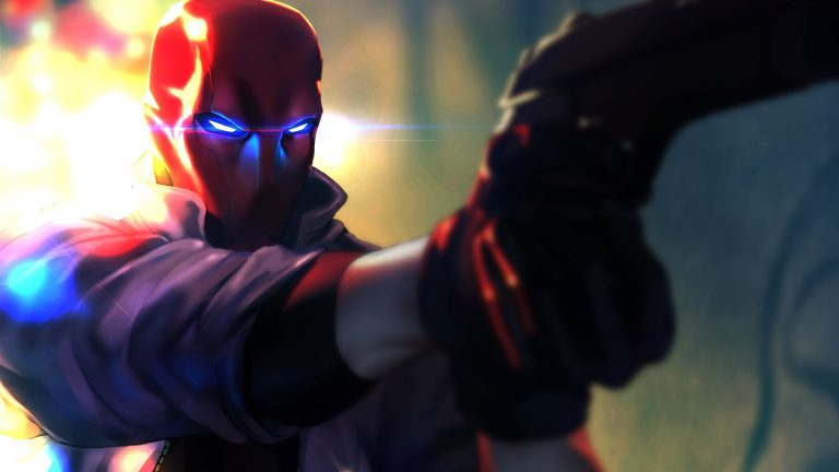 red hood wallpaper 055