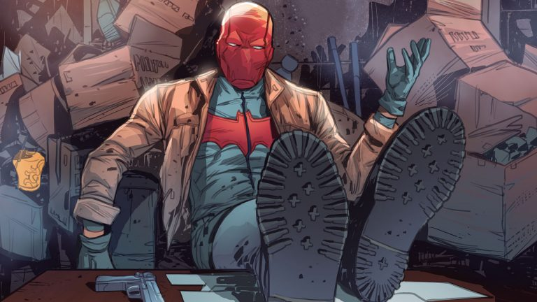 red hood wallpaper 077