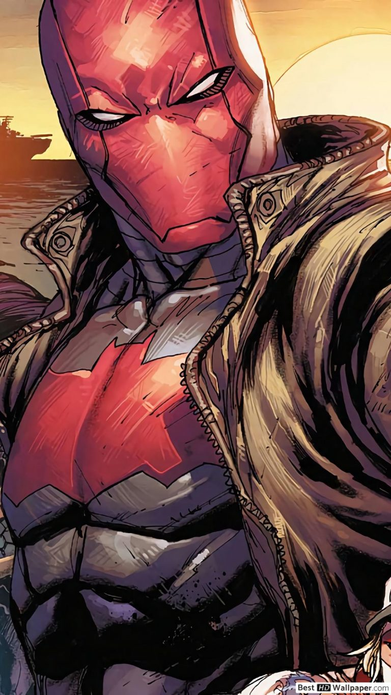 red hood wallpaper 086