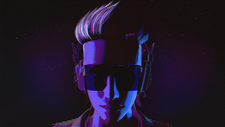 retrowave wallpaper 077