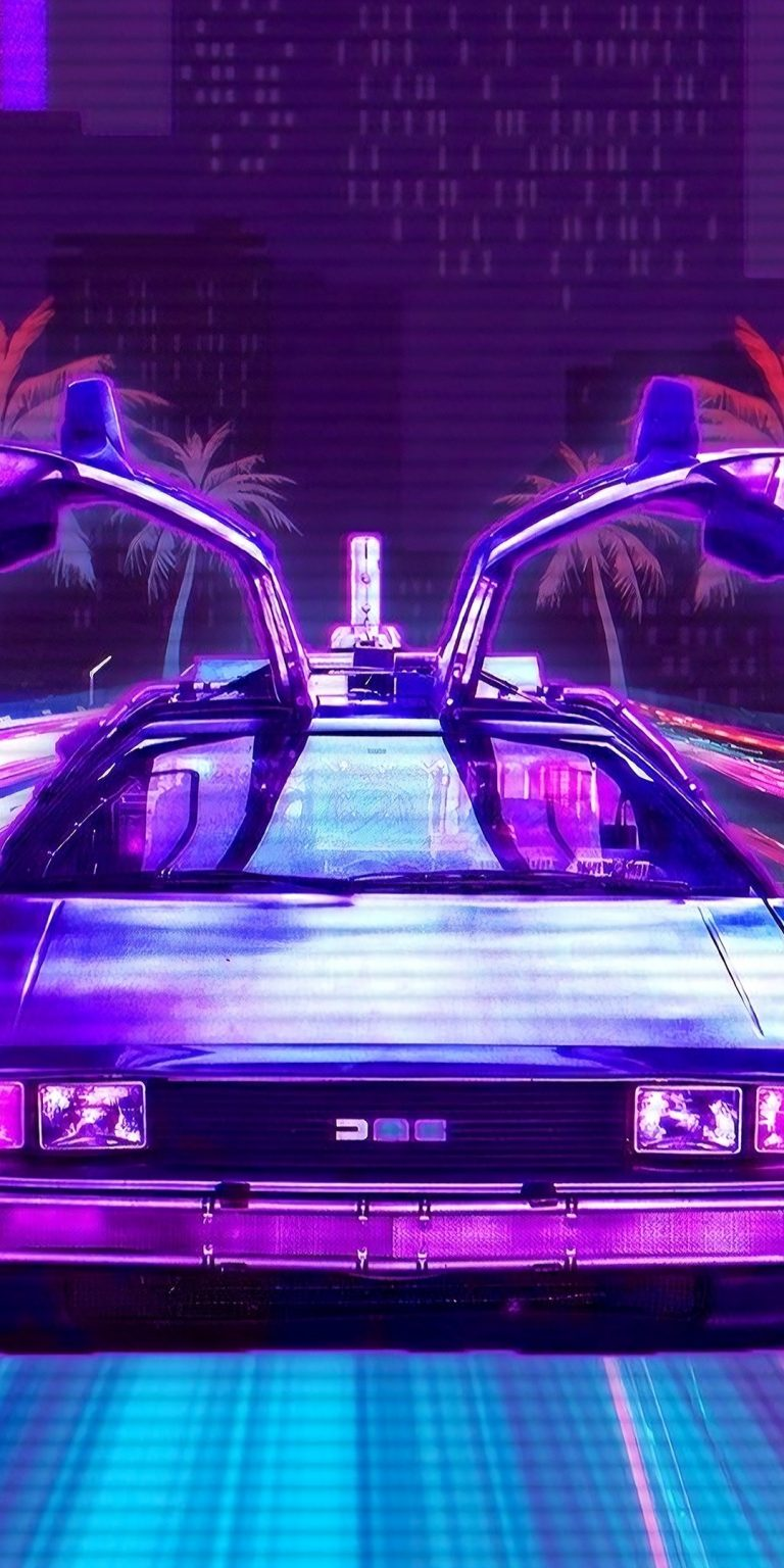 retrowave wallpaper 078