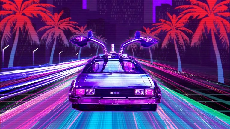 retrowave wallpaper 079