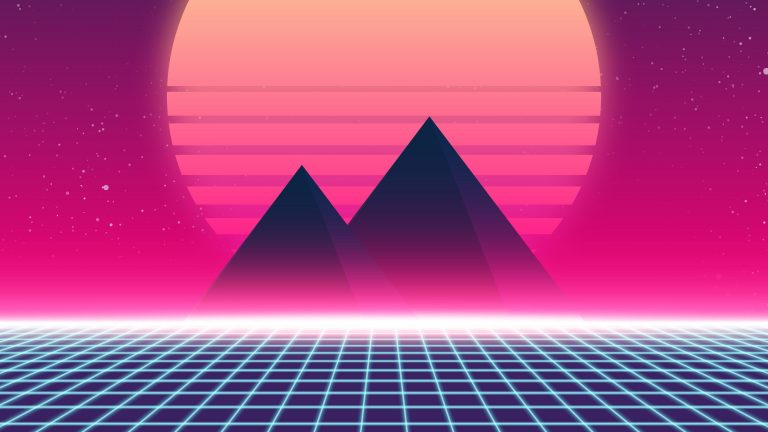 retrowave wallpaper 085
