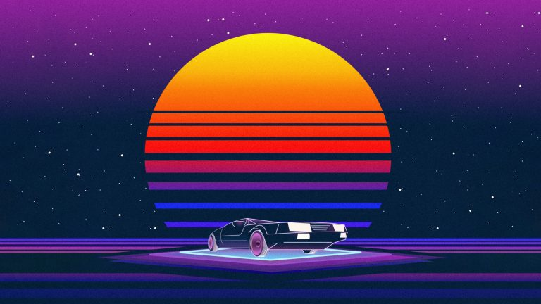 retrowave wallpaper 088