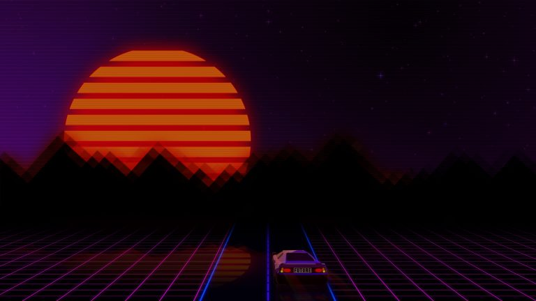 retrowave wallpaper 089