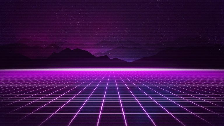 retrowave wallpaper 091