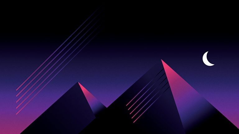 retrowave wallpaper 096