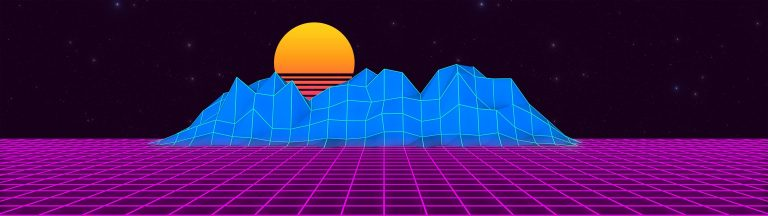 retrowave wallpaper 099