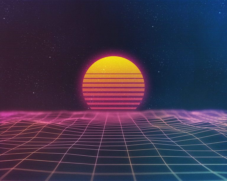 retrowave wallpaper 103