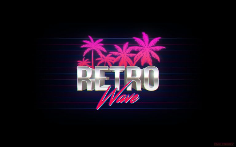 retrowave wallpaper 105