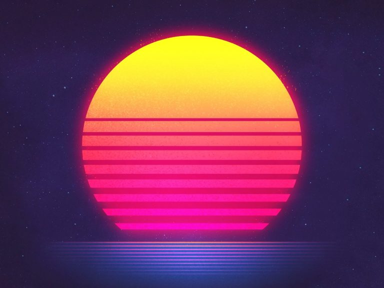 retrowave wallpaper 106