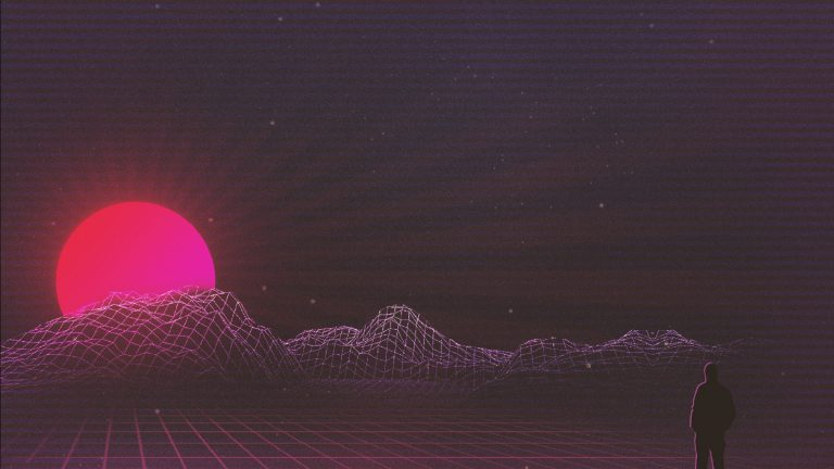 retrowave wallpaper 107