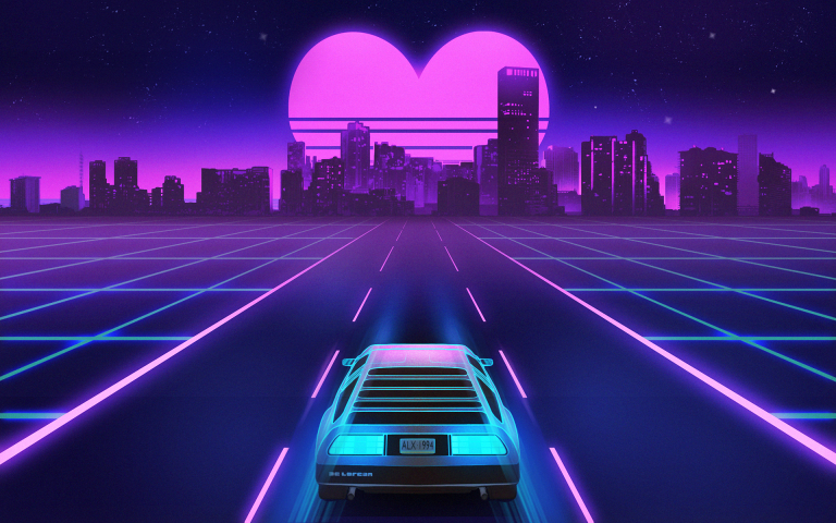 retrowave wallpaper 113