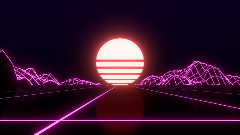 retrowave wallpaper 116