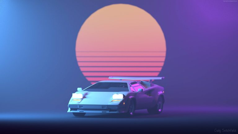 retrowave wallpaper 117