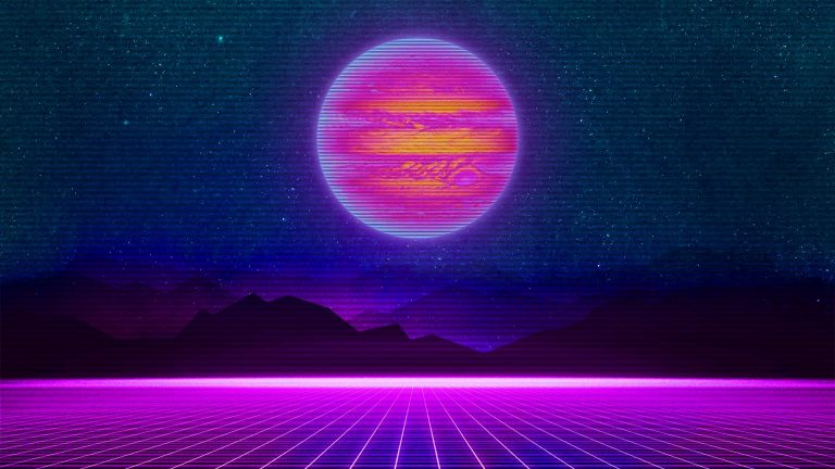 retrowave wallpaper 118