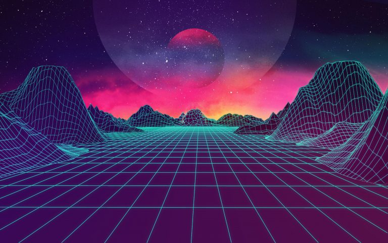 retrowave wallpaper 119