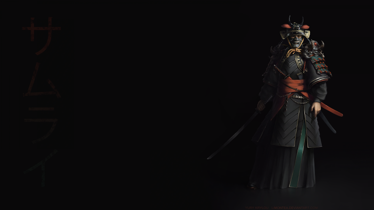 samurai wallpaper 058