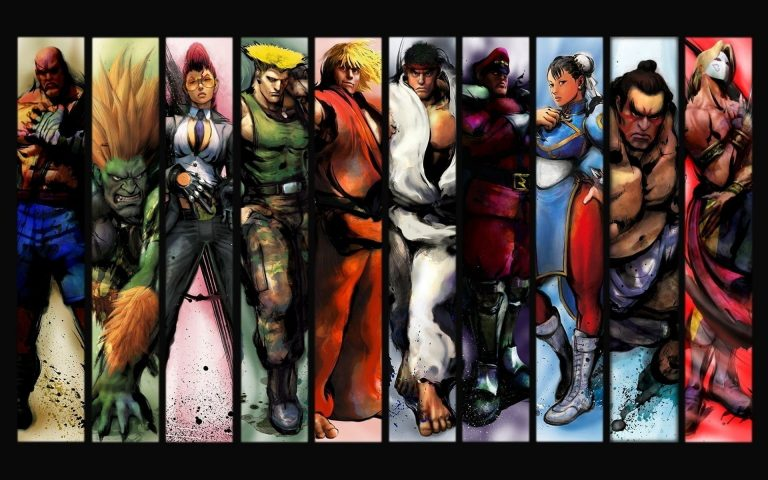 street fighter wallpaper 101