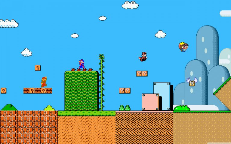 super mario wallpaper 101