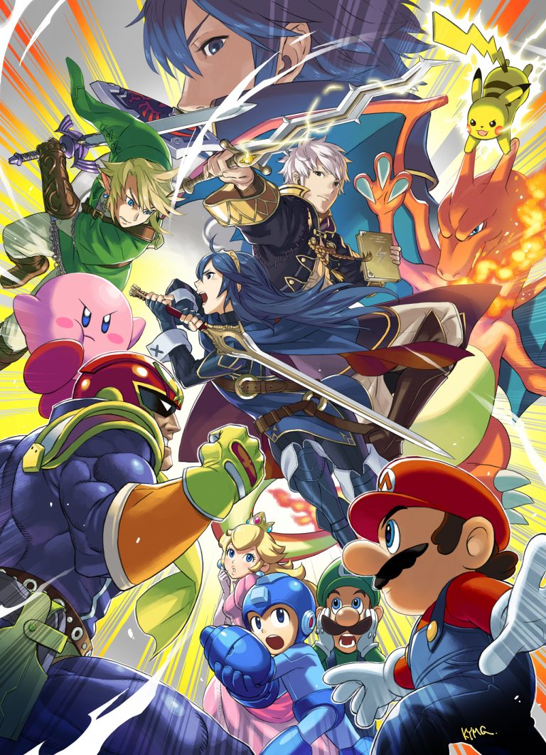 super smash bros wallpaper 99