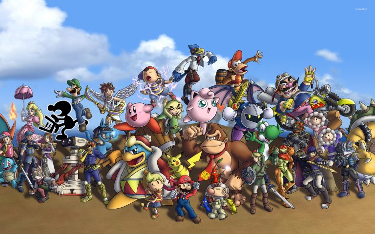 super smash bros wallpaper 108