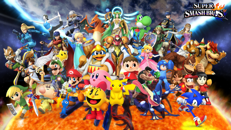 super smash bros wallpaper 123