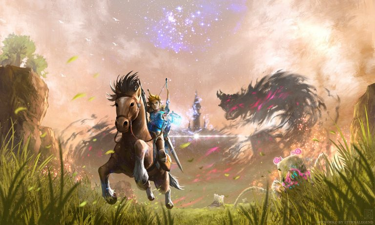 zelda breath of the wild wallpaper 154
