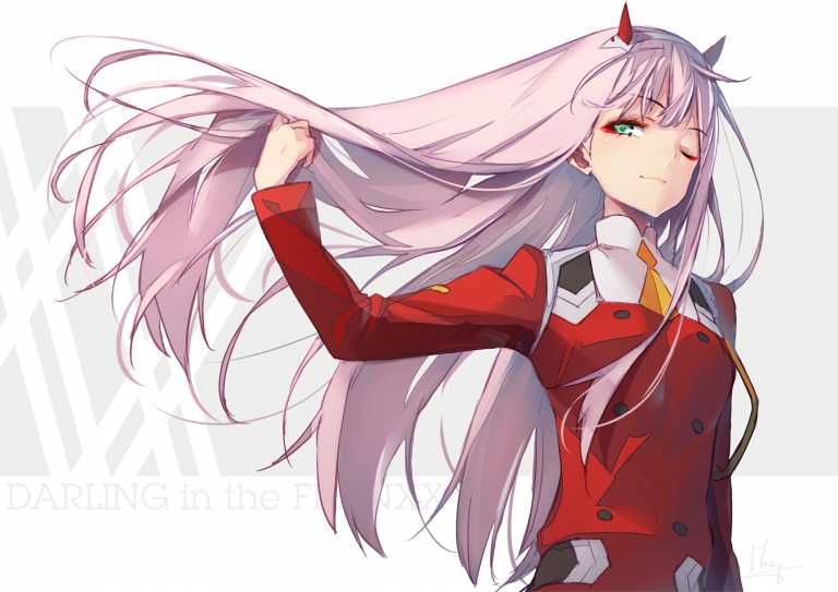 zero two wallpaper 12